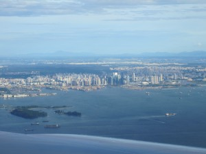 Singapore from the air